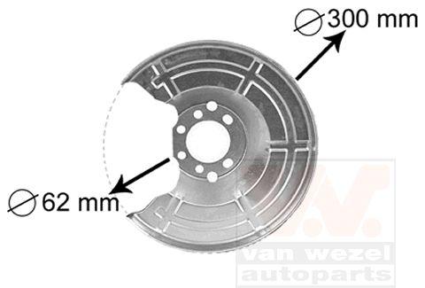 Bremsankerblech VAN WEZEL 3745371 Bewertung
