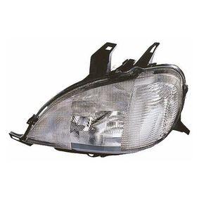 Hauptscheinwerfer für Fahrzeuge mit Leuchtweiteregelung (elektrisch), für Rechtsverkehr mit OEM-Nummer A163-820-376164