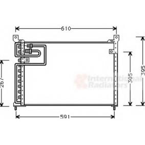 Кондензатор, климатизация 02005113 800 (XS) 2.0 I/SI Г.П. 1997
