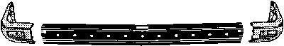 Frontschürze 1836534 VAN WEZEL 217409 in Original Qualität