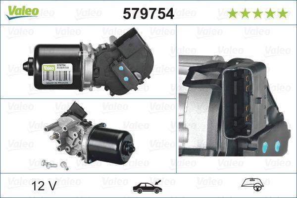 Windshield Wiper Motor 579754 VALEO 579754 original quality