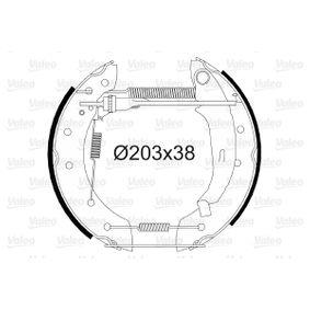 Bremsensatz, Trommelbremse mit OEM-Nummer 4241 4L