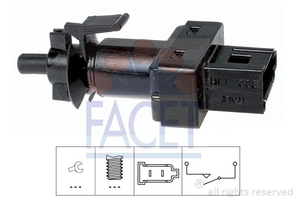 FACET  7.1222 Switch, clutch control (cruise control)