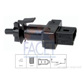 Switch, clutch control (cruise control) with OEM Number A0045452114