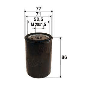 Filtro olio (586002) per per Lampadina Luce Posteriore di Stop FIAT SCUDO Furgonato (220L) 2.0 JTD 16V dal Anno 05.1999 109 CV di VALEO