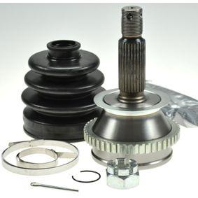 Gelenksatz, Antriebswelle Außenverz.Radseite: 27, Innenverz. Radseite: 25, Zähnez. ABS-Ring: 47 mit OEM-Nummer 49501 3A210