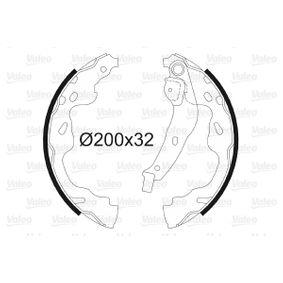 Bremsbackensatz Trommel-Ø: 200, Breite: 32mm mit OEM-Nummer 4242.16