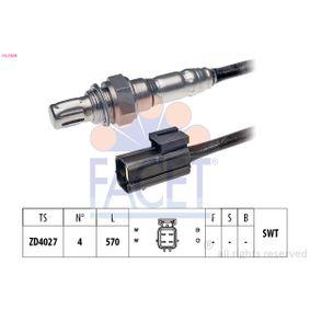 Lambdasonde Kabellänge: 570mm mit OEM-Nummer 11781742051
