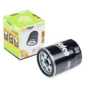 VALEO  586040 Ölfilter Ø: 65,5mm, Innendurchmesser 2: 62mm, Innendurchmesser 2: 55mm, Höhe: 92mm
