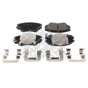Bremsbelagsatz, Scheibenbremse Höhe: 59,6mm, Dicke/Stärke: 19mm mit OEM-Nummer 13237753