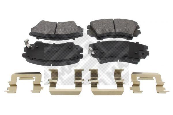 MAPCO  6859 Brake Pad Set, disc brake Width: 142mm, Height: 66,7mm, Thickness: 18,8mm