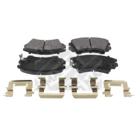 Brake Pad Set, disc brake Width: 142mm, Height: 66,7mm, Thickness: 18,8mm with OEM Number 1605 434