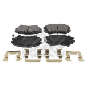 Brake Pad Set, disc brake Article № 6859 £ 140,00