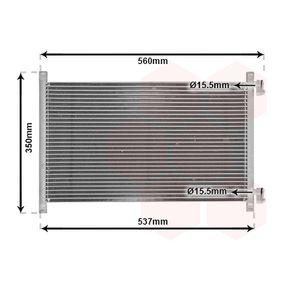 Kondensator, Klimaanlage mit OEM-Nummer 46788052