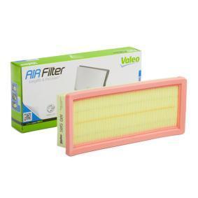 Luftfilter Länge: 282mm, Breite: 123mm, Höhe: 48mm, Länge: 282mm mit OEM-Nummer 2232 400 QAB