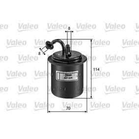 Kraftstofffilter Höhe: 114mm mit OEM-Nummer 42072-PA010