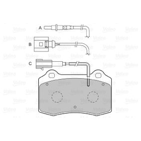 Bremsbelagsatz, Scheibenbremse Breite 1: 109,7mm, Höhe 1: 69,2mm, Dicke/Stärke 1: 14,7mm mit OEM-Nummer 1ML 698 151