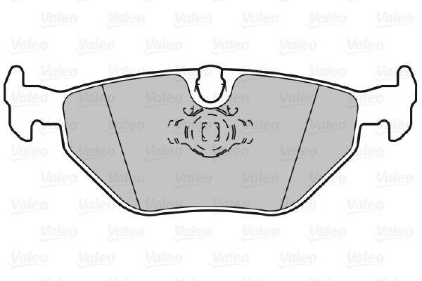 Bremsbelagsatz VALEO 598311 Bewertung