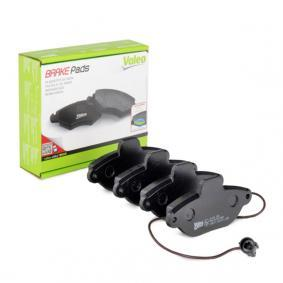 Brake Pad Set, disc brake 598011 PANDA (169) 1.2 MY 2012