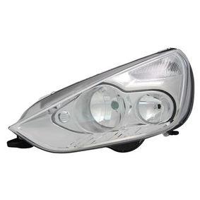 Hauptscheinwerfer für Fahrzeuge mit Leuchtweiteregelung (elektrisch), für Rechtsverkehr mit OEM-Nummer 1438494