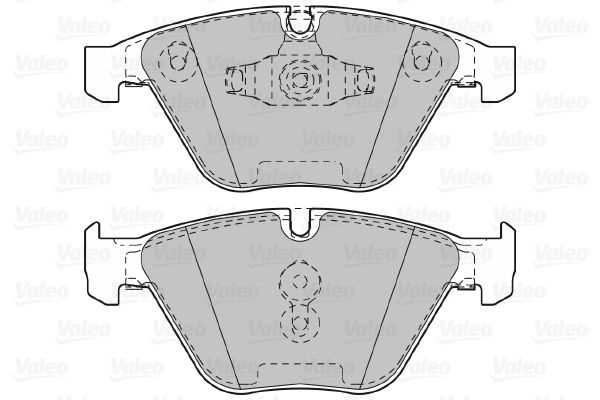 Bremsbeläge 601027 VALEO 601027 in Original Qualität