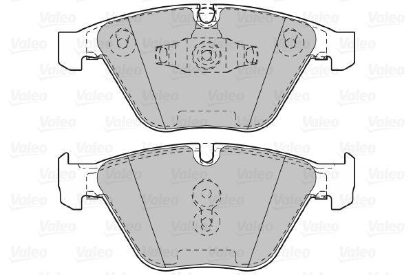 Bremsbelagsatz VALEO 601027 Bewertung