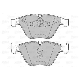 Bremsbelagsatz, Scheibenbremse Breite 2: 155,2mm, Höhe 2: 68,37mm, Dicke/Stärke 2: 20,3mm mit OEM-Nummer 3411 2 288 858