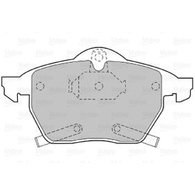 Комплект спирачно феродо, дискови спирачки ширина 2: 156мм, ширина: 155мм, височина 2: 74,2мм, височина: 74мм, дебелина 2: 20,3мм, дебелина: 19,6мм с ОЕМ-номер 95 514 416