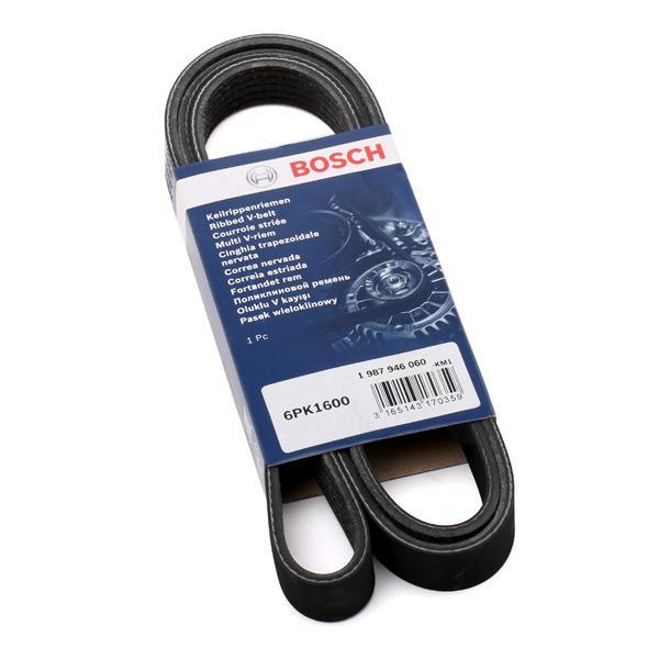 Poly V-Belt 1 987 946 060 BOSCH 6PK1600 original quality
