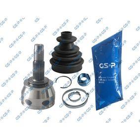 GSP  817053 Gelenksatz, Antriebswelle Außenverz.Radseite: 25, Innenverz. Radseite: 23