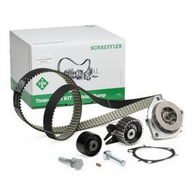 Water Pump & Timing Belt Set Width: 24,00mm with OEM Number 636317