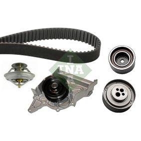 INA Wasserpumpe + Zahnriemensatz 530 0158 30 für AUDI 80 (8C, B4) 2.8 quattro ab Baujahr 09.1991, 174 PS
