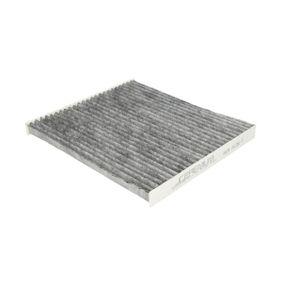 Filter, Innenraumluft Länge: 200mm, Breite: 219,5mm, Höhe: 20,5mm mit OEM-Nummer 88568-02030