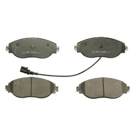 Brake Pad Set, disc brake Width: 175,2mm, Height: 69,7mm, Thickness: 20mm with OEM Number 3C0 698 151 G