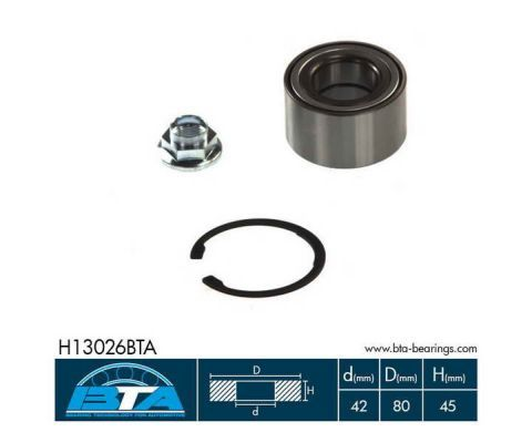 Radlager & Radlagersatz BTA H13026BTA Bewertung