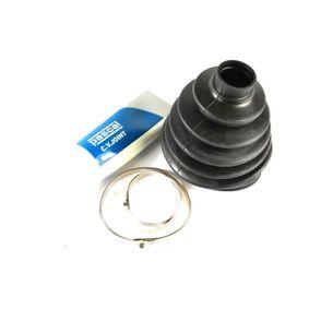 Faltenbalgsatz, Antriebswelle Höhe: 112mm, Innendurchmesser 2: 25mm, Innendurchmesser 2: 88mm mit OEM-Nummer 8D0 498 203C