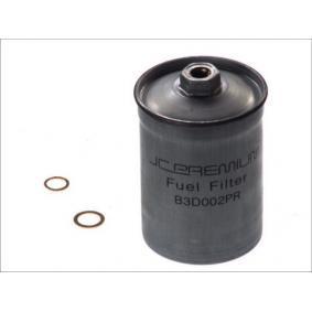 JC PREMIUM Kraftstofffilter B3D002PR für AUDI 80 (8C, B4) 2.8 quattro ab Baujahr 09.1991, 174 PS