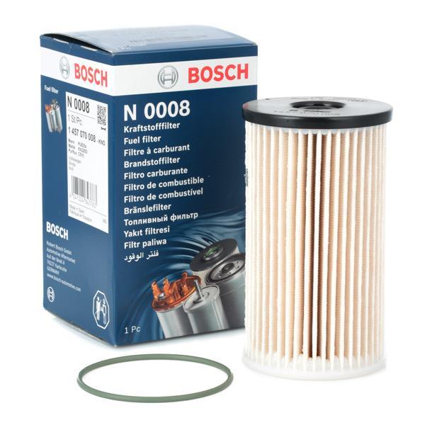 Inline fuel filter 1 457 070 008 BOSCH N0008 original quality