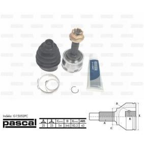 Gelenksatz, Antriebswelle Art. Nr. G15052PC 120,00€