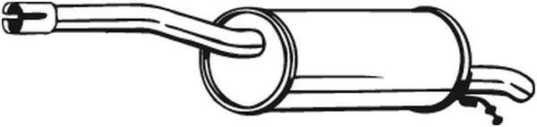 BOSAL  200-079 Endschalldämpfer