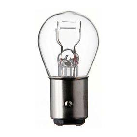 Крушка с нагреваема жичка, стоп светлини / габарити P21/5W, 6волт, Bay15d, 21/5ват 6014
