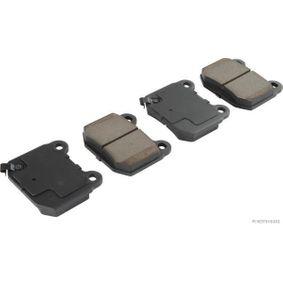 Bremsbelagsatz, Scheibenbremse J3611001 IMPREZA Schrägheck (GR, GH, G3) 2.5 WRX STI AWD (GRF) Bj 2011