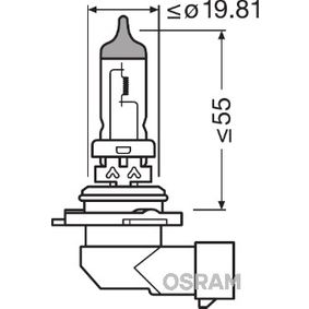 Bulb, spotlight HB4, 51W, 12V 9006NBU-HCB MERCEDES-BENZ C-Class, E-Class, S-Class