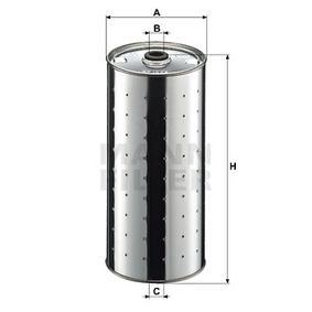 MANN-FILTER  PF 1025 n Ölfilter Ø: 98mm, Innendurchmesser: 14mm, Höhe: 206mm