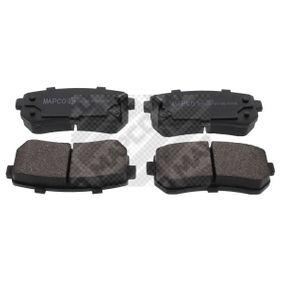 2012 KIA Ceed ED 2.0 Brake Pad Set, disc brake 6922