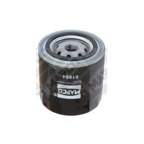 Oil Filter 61604 NP300 Navara Pickup (D40) 2.5 dCi 4WD (D40TT, D40T, D40M, D40BB) MY 2012
