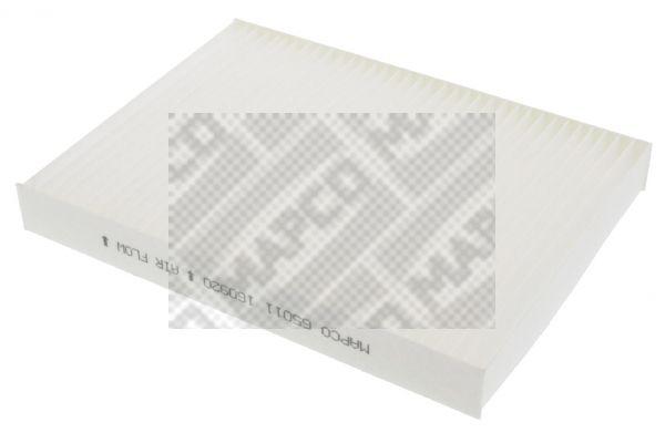 MAPCO  65011 Filter, Innenraumluft Länge: 215mm, Breite: 163mm, Höhe: 24mm