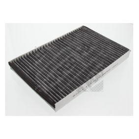 Filter, Innenraumluft Länge: 302mm, Breite: 199mm, Höhe: 31mm mit OEM-Nummer 9121627