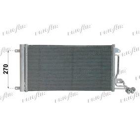 Kondensator, Klimaanlage Netzmaße: 575 x 335 x 16 mm, Kältemittel: R 134a mit OEM-Nummer 6R0820411D