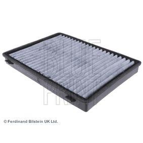 Filter, Innenraumluft Länge: 275,5mm, Breite: 207,0mm, Höhe: 26,5mm mit OEM-Nummer 95 599 725
